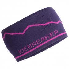 Adult Icebreaker Headband Mt. Cook
