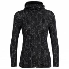 Wmns Away LS Zip Hood Showers