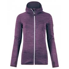 Fleece Melange Hoody Wmn