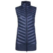 Tuya Down Vest Long Wmn