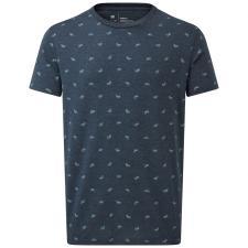Bike Around Print T-Shirt