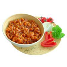 Nudeln mit Rindfleisch und Paprikasauce 125g